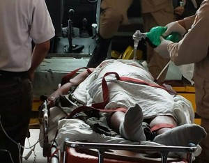 Los lesionados fueron trasladados a un centro asistencial de San Pedro Sula, indicaron fuentes policiales.