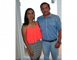 Nadia y Manuel Ortiz.