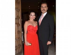 Stephanie Bueso y Javier Santos.