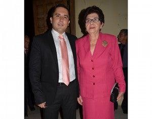 Osmer Moncada y Martha Julia Santos.