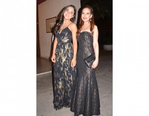 Eugenia Alvarado y Daniela Tome.