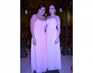 Mayra Corea y Ana Lucía Bocanegra.