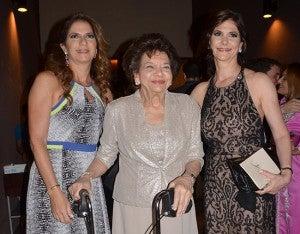 Vivian, Margarita, Jackie  Fléfil.