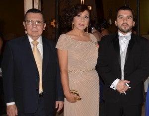 Osmer Moncada, Maribel Chinchilla y Maylin Osmer Moncada.