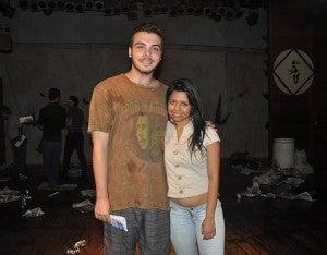Dylan Martin Cassidy y Jimena Velásquez.