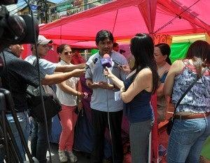 Wilfredo Méndez dijo que él lo que propone es una agenda integral.