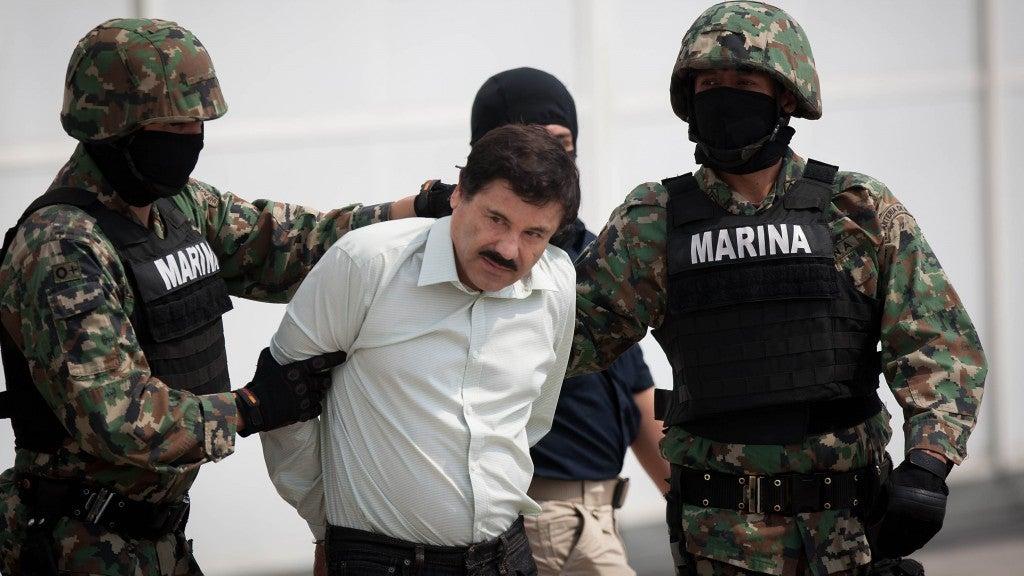 El capo Joaquín El Chapo Guzmán escapó de la cárcel en México