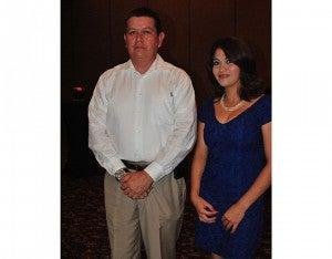 Sergio Salgado y Glendy Inestroza.