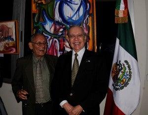 Isidro Pineda  y Horacio Barrios.