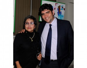 María Díaz y Rolando Kattán.