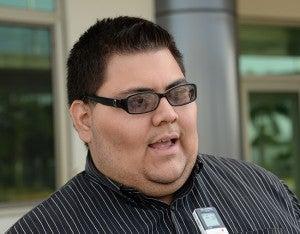 Edwin Molina estudiante afectado manifestó que la lucha continuará en la UNAH-VS.