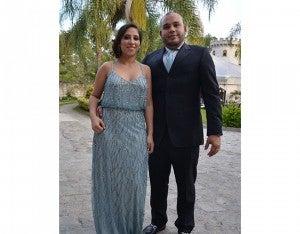 Hilda Quiñonez y Ángel Bueno.