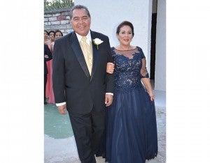 Osmar castellanos y Martha Padilla.