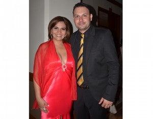 Samantha Aguirre y Billy Zapata.