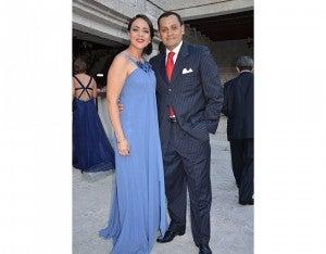 Vanessa Castellanos y Cristian Rivera.
