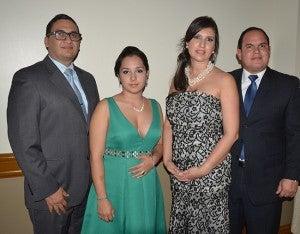 Hernán Álvarez, Gabriela Castillo, Adela Estrada y Alan Trejo.
