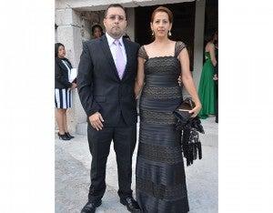Jorge y Rosslyn Rodríguez.
