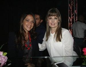 Pamela Coello y Adda Molina.
