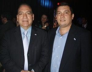 Edgardo Martínez y Mario Ayes.