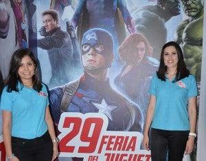 Melissa Martínez y Paola Chinchilla.
