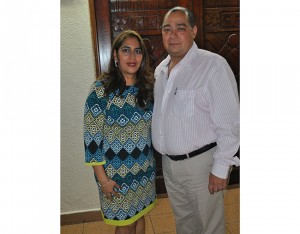 Oscar y Gabriela Herrera.