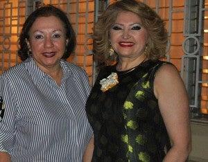 Yolanda Reyes y Maritza Lara.