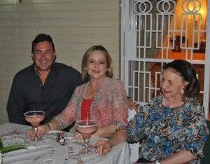 Oscar Kattán, Claudia Kattán y Elena Salem.