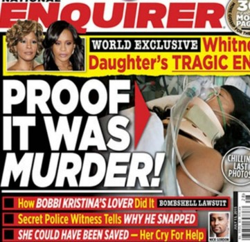 Filtran fotografía del cadáver de la hija de Whitney Houston, Bobby Kristina