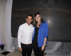 José Guerrero y Laura Juárez.