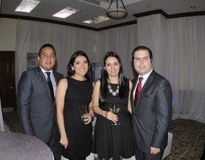 Omar Díaz, Lía Ramírez, Gabriela Umanzor y Eduardo Hernández.