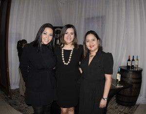 Jennifer Archaga, Nidzy Trujillo y Dilcia Bárcenas.