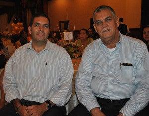 Sergio Guevara y Juan Bendeck.