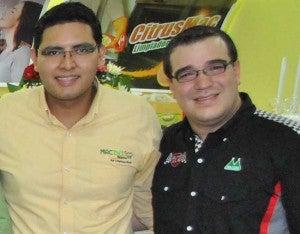 Eduardo González y Carlos Mencía.