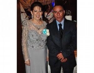 Alba de Jácome y Gilberto Rodríguez.