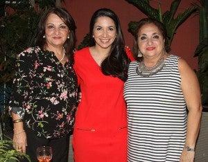 Marlen Letelier, Linda Azrak y María Salman.