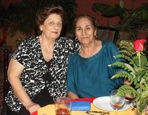 Maru Kafie y Diana Hasbun.