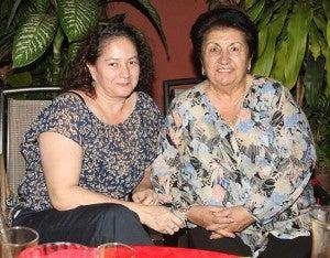 Sonia Rishmawi y Tina Canahuati.