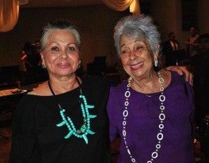 María Elena Córdoba y Mimí Panayotti.