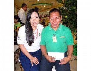 Claudia Ramos y Andrés Hernández Pérez.