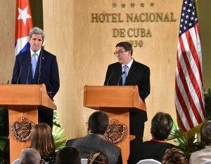 CUBA-US-KERRY-RODRIGUEZ-PRESSER