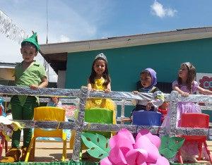 La belleza infantil adornó la calles del municipio.
