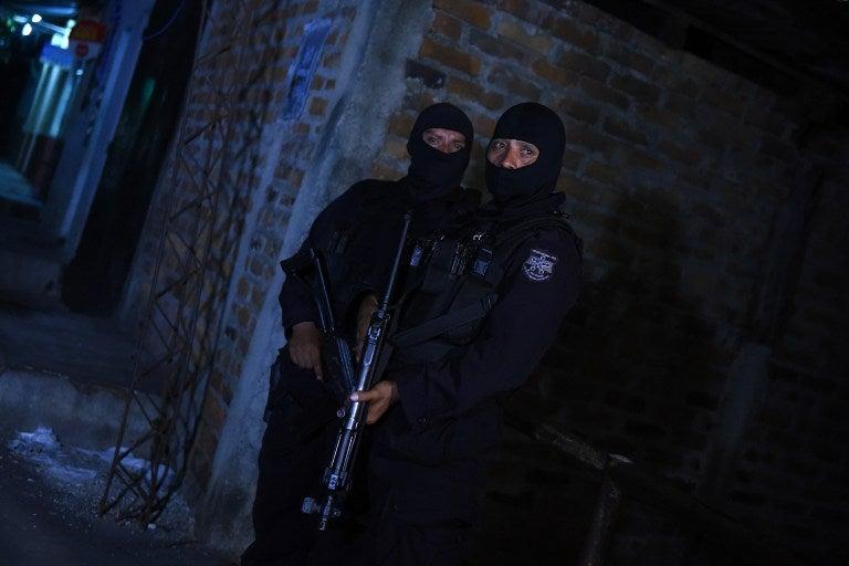 EL SALVADOR-CRIME-PRISON-VIOLENCE-GANGS