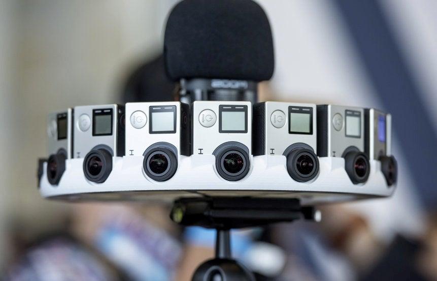 Así funciona Odyssey, la GoPro que filma en 360 grados (2)