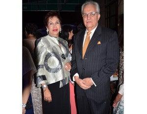Olga Ponce y Anzoni Gómez.