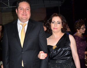 Guillermo García y Andrea Rumman.