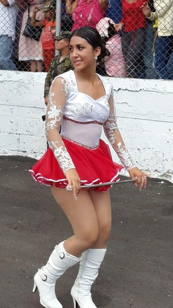 Belleza y patriotismo Arrancan los desfiles del 15 de Septiembre en Tegucigalpa (2)