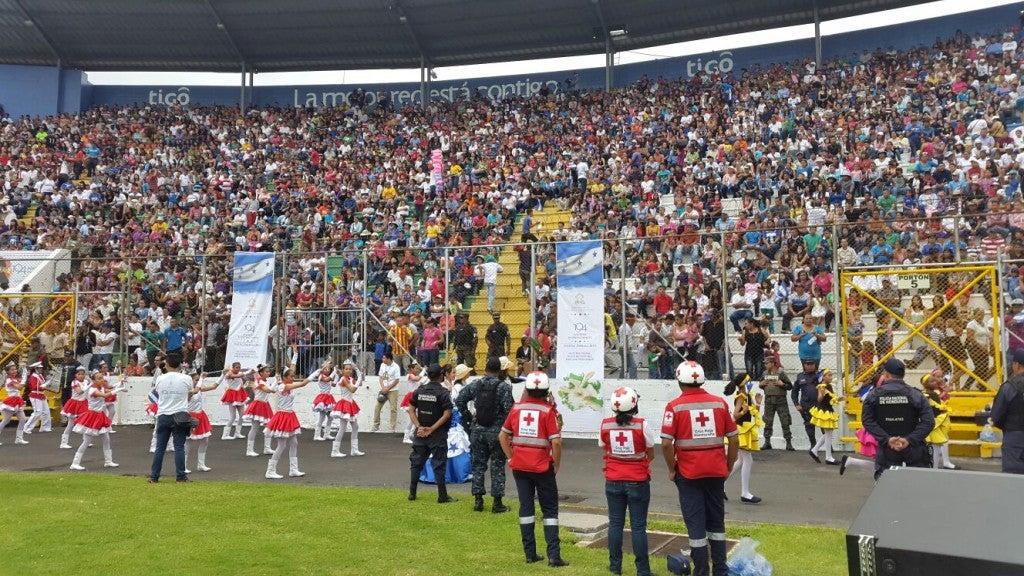 Belleza y patriotismo Arrancan los desfiles del 15 de Septiembre en Tegucigalpa4