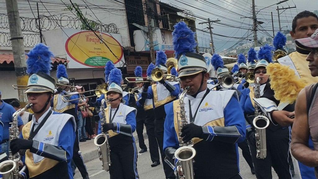 Color, belleza y patriotismo Arrancan los desfiles del 15 de septiembre en Tegucigalpa (2)