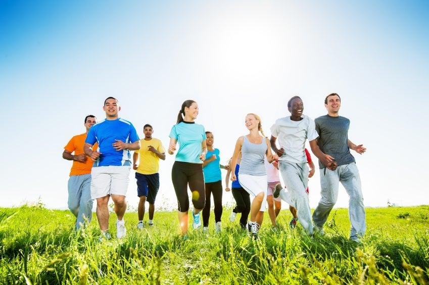 El ejercicio aeróbico te ayuda a bajar de peso y alivia tensiones.