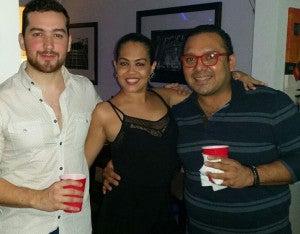 Carlos Castillo, Pamela Amaya y Gerardo Trejo.